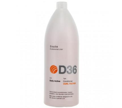 Кондиционер для вьющихся или химически завитых волос Erayba D36 Curl Factor Conditioner, 1500 мл