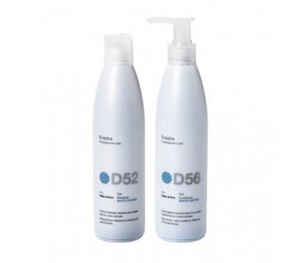 Набор для седых и осветленных волос Erayba White Factor Set D52/D56, 2х250 мл