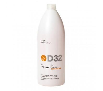 Шампунь для вьющихся или химически завитых волос Erayba D32 Curl Factor Shampoo, 1500 мл