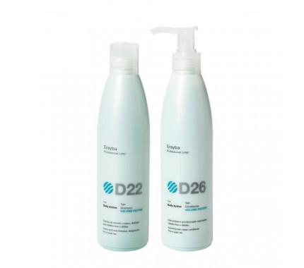 Набор для объема волос Erayba Volume Factor Set D22/D26, 2х250 мл