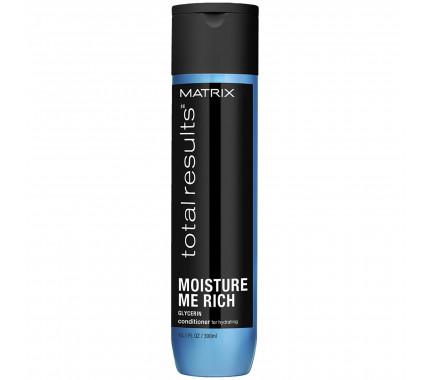 Кондиционер для увлажнения волос Matrix Total Results Moisture Me Rich Conditioner, 300 мл., 1000 мл