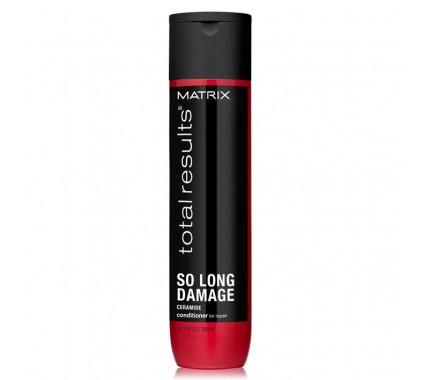 Кондиционер с керамидами для восстановления волос Matrix Total Results So Long Damage Conditioner, 300 мл., 1000 мл
