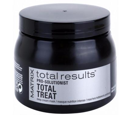 Интенсивно восстанавливающая маска для ослабленных волос Matrix Total Results Pro Solutionist Total Treat, 500 мл