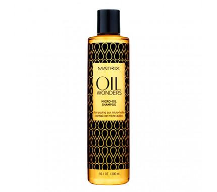 Питательный шампунь с микромаслами Matrix Oil Wonders Micro-Oil Shampoo, 300 мл