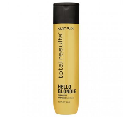 Шампунь для сияния светлых волос Matrix Total Results Hello Blondie Shampoo, 300 мл