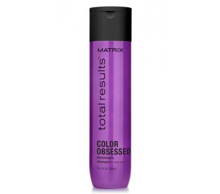 Шампунь для сохранения цвета окрашеных волос Matrix Total Results Color Obsessed Shampoo, 300 мл., 1000 мл