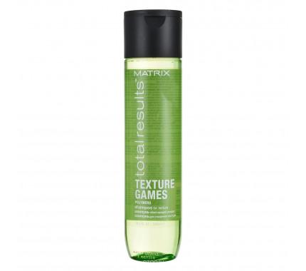 Шампунь для вьющихся волос Matrix Total Results Texture Games Shampoo, 300 мл., 1000 мл