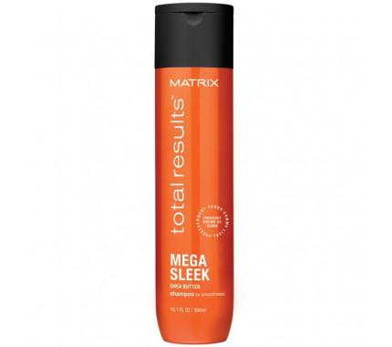 Шампунь с маслом Ши для гладкости волос Matrix Total Results Mega Sleek Shampoo, 300 мл