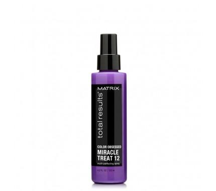 Спрей для защиты цвета окрашенных волос Matrix Total Results Color Obsessed Miracle Treat 12, 125 мл