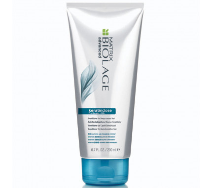 Укрепляющий кондиционер для поврежденных волос Matrix Biolage Keratindose Pro Keratin Conditioner, 200 мл., 1000 мл
