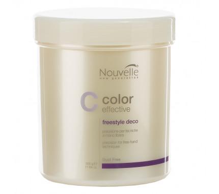 Осветляющее средство для волос Nouvelle Color Effective Freestyle Deco, 500 г