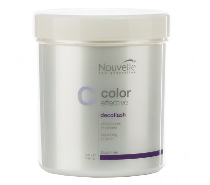 Осветляющее средство для волос Nouvelle Decoflash Bleaching Powder, 25 г, 500 г