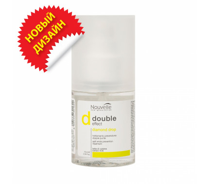 Средство для ухода и блеска волос Nouvelle Double Effect Diamond Drop, 75 мл
