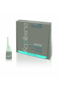 Средство для жирных волос с экстрактом крапивы Nouvelle Kapillixine Golden Drops, 10 мл 10 амп