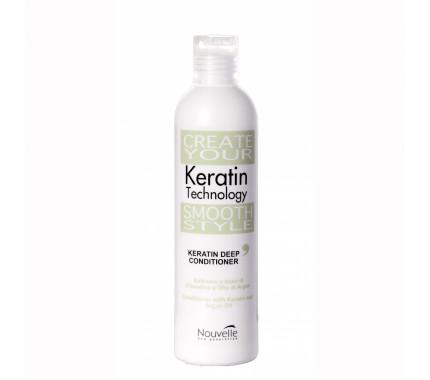 Бальзам кератиновый восстанавливающий Nouvelle Keratin Deep Conditioner, 250 мл