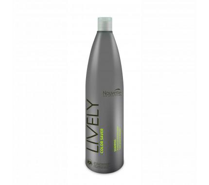 Шампунь для защиты цвета Nouvelle Lively Color Saver Shampoo, 1000 мл