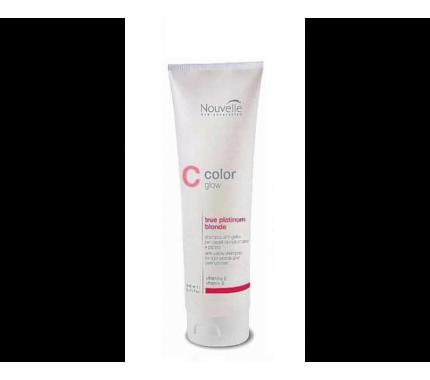 Шампунь против желтизны блондированных и светлых волос Nouvelle True Platinum Blonde Shampoo, 200 мл