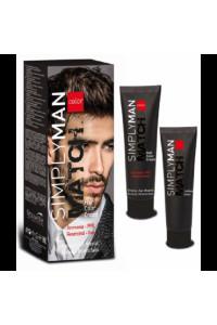 Крем-краска для мужских волос Nouvelle Simply Man Hair Color Cream, 40 + 40 мл
