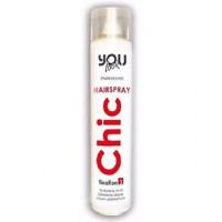 Аэрозольный лак супер сильной фиксации You Look Chic Hairspray