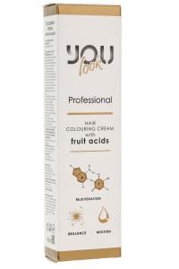 Стойкая профессиональная крем-краска для волос You Look Professional Hair Colouring Cream 60 мл.
