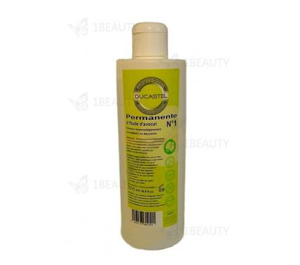 Жидкость № 1 - для химической завивки - натуральные волосы - Laboratoire Ducastel