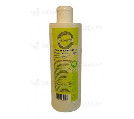 Жидкость № 3 - для химической завивки - натуральные волосы - Laboratoire Ducastel