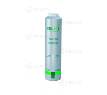 Тривалентный шампунь Relive tri action - Green light