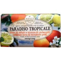 Мыло Nesti Dante Тропический рай - Лайм Таити и шкурка мосамби