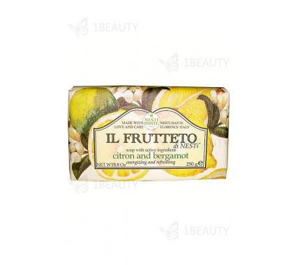 Фруктовое мыло с лимоном и бергамотом - Nesti Dante
