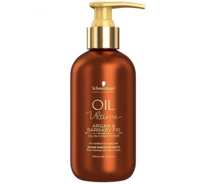 Кондиционер для нормальных и жёстких волос с маслом арганы и берберийской фиги Schwarzkopf Professional Oil Ultime Oil In Conditioner, 200 мл
