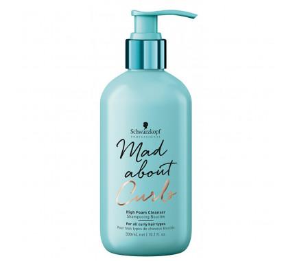 Мягкий шампунь для кучерявых волос Schwarzkopf Professional Mad About Curls Low Foam Cleanser Shampoo, 300 мл., 1000 мл