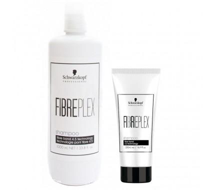 Шампунь для восстановления и защиты цвета окрашенных волос Schwarzkopf Professional Fibreplex Shampoo, 200 мл., 1000 мл