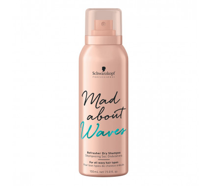 Сухой шампунь Schwarzkopf Professional Mad About Waves Refresher Dry Shampoo, 150 мл