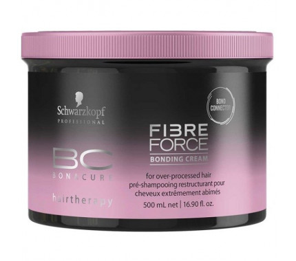 Укрепляющая крем-маска Schwarzkopf Professional BC Bonacure Fibre Force Bonding Cream, 500 мл